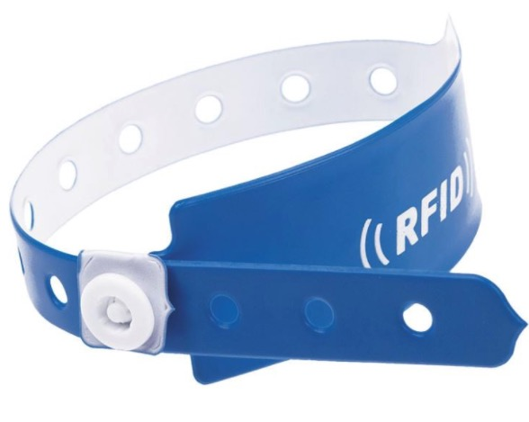 Soft PVC NFC Wristband