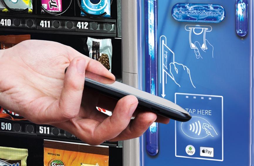 NFC en Máquinas de Vending